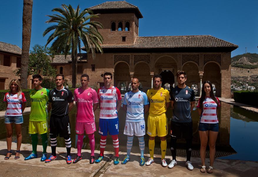 La Alhambra, con el Granada CF