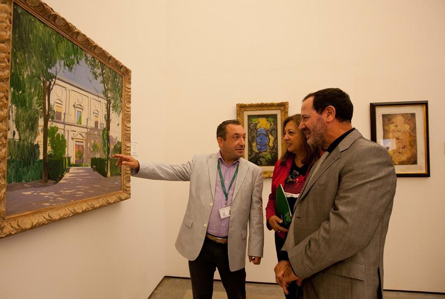 El Museo de Bellas Artes acoge la muestra 'Granada, meta de artistas'