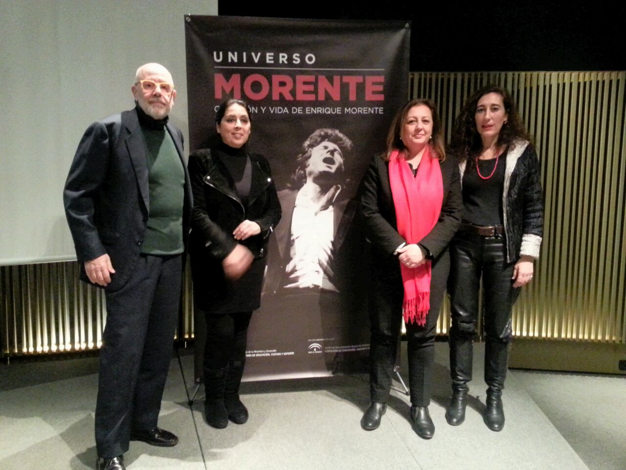 La Alhambra presenta en el MACBA el libro-homenaje a Enrique Morente