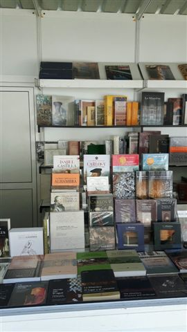 La Alhambra en la Feria del Libro
