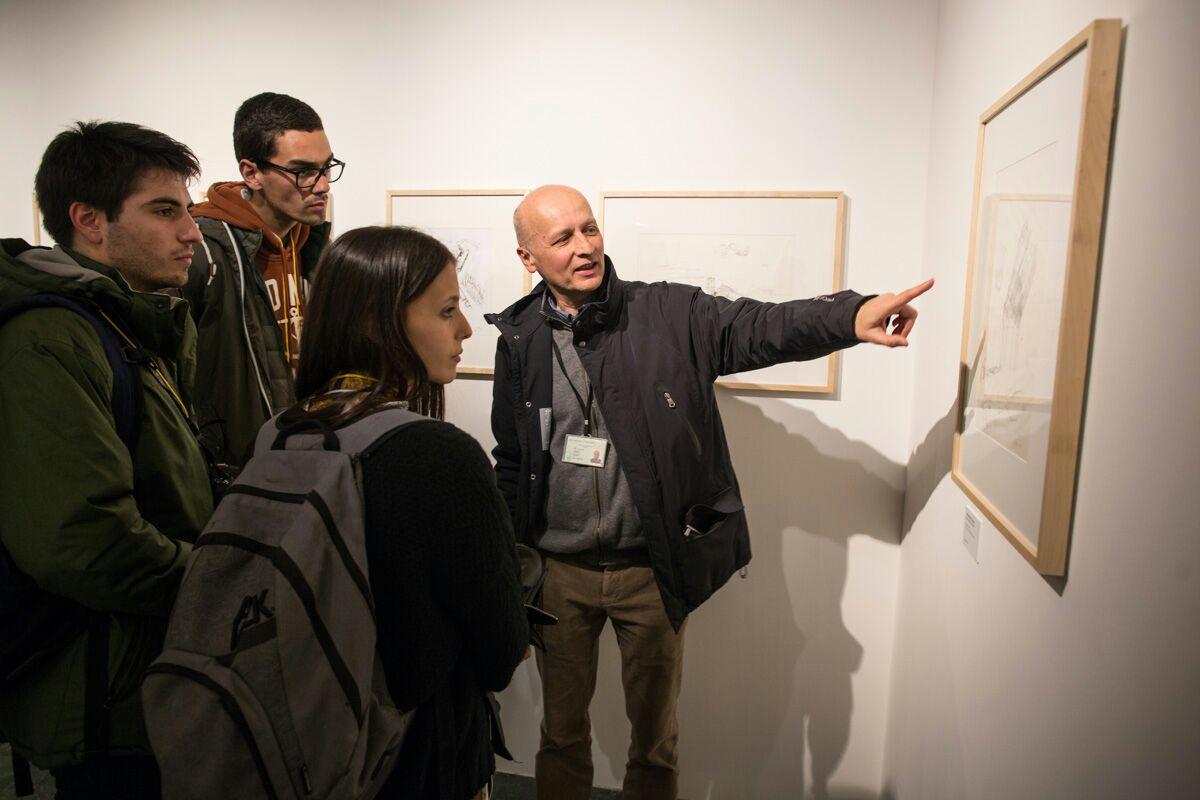 La exposición 'Visiones de la Alhambra de Álvaro Siza' despierta el interés de Escuelas de Arquitectura de Europa y Estados Unidos