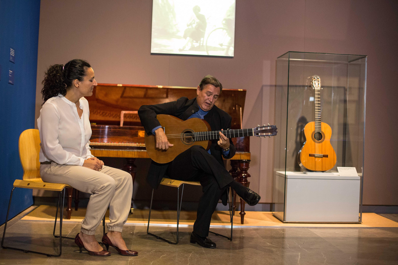 Más de 60.000 personas visitan la exposición 'Ángel Barrios. Creatividad en la Alhambra'