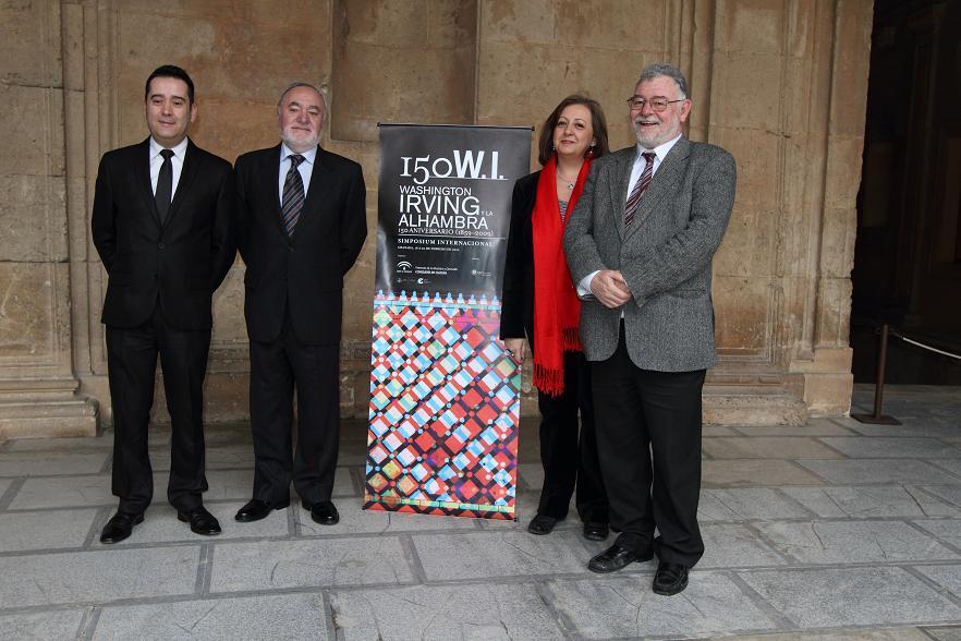 La Alhambra y la SECC recuerdan a Washington Irving