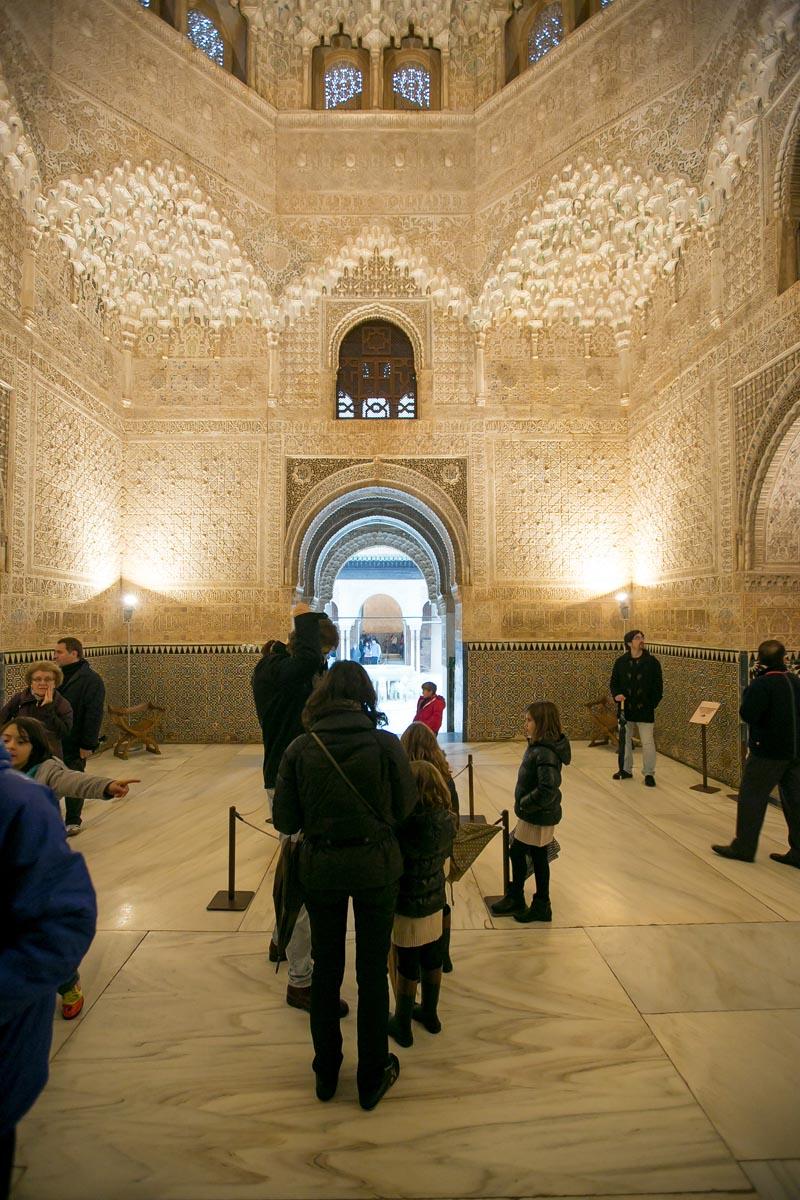 La Alhambra, en familia