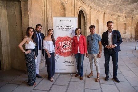 Aguilar presenta el estreno del Ballet Flamenco de Andalucía para el XV Ciclo Lorca y Granada en los Jardines del Generalife