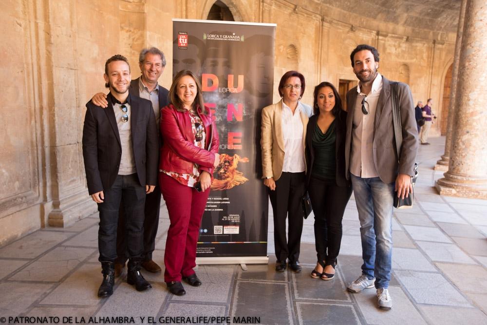 La Moneta llevará su 'Duende' al Generalife en el ciclo Lorca y Granada