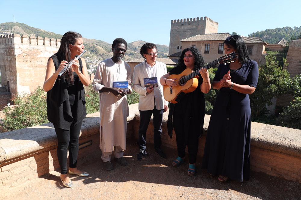 Música, poesía, protagonistas del homenaje al poeta del siglo XIII Es-Sahili en la Alhambra