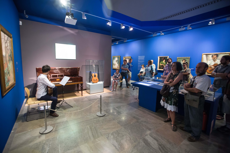 La exposición Ángel Barrios, creatividad en la Alhambra registra más 30.000 visitantes