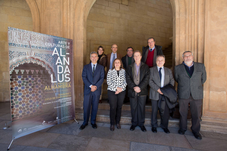 """Comienza el seminario """"Arte y Culturas de al-Andalus. El Poder de la Alhambra"""" en el Palacio de Carlos V"""