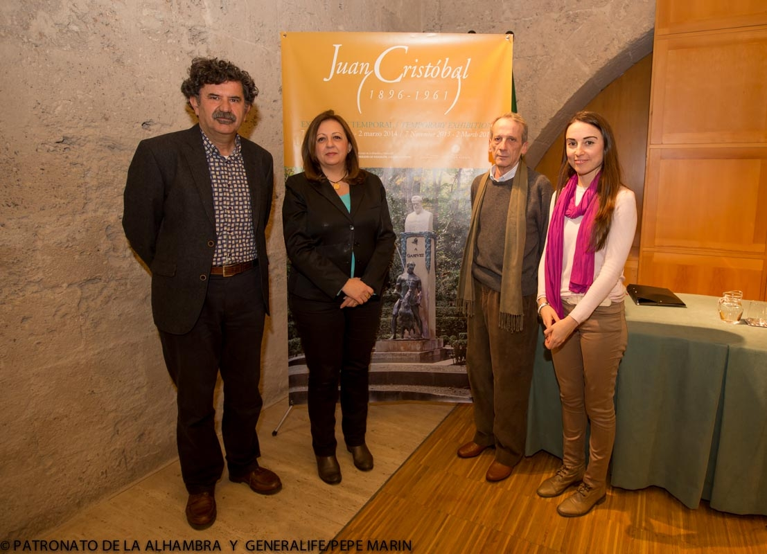 El investigador Miguel Ruiz de Almodóvar reflexiona sobre el monumento a Ganivet, instalado en el Bosque de la Alhambra