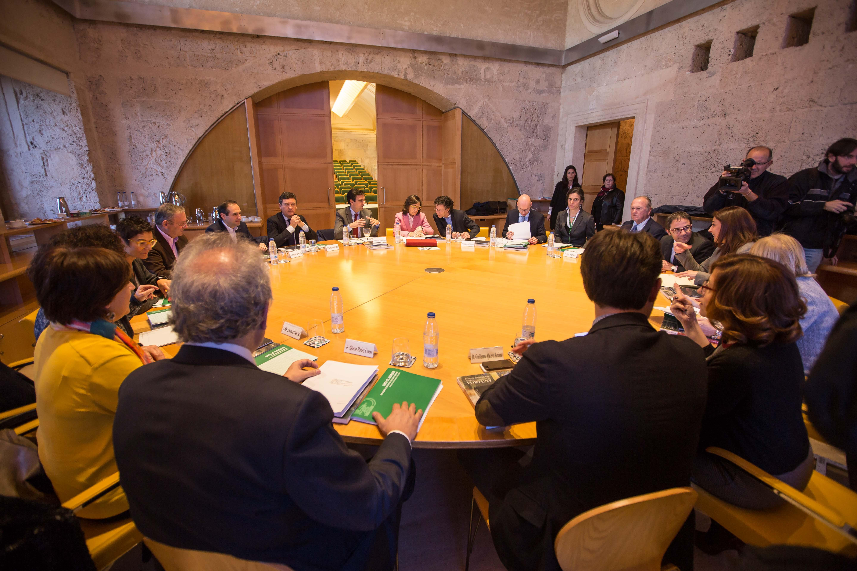 Reunión del Pleno del Patronato de la Alhambra y Generalife