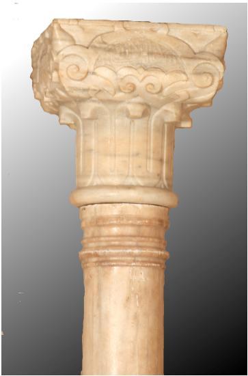 La columna nazarí de la Alcaicería