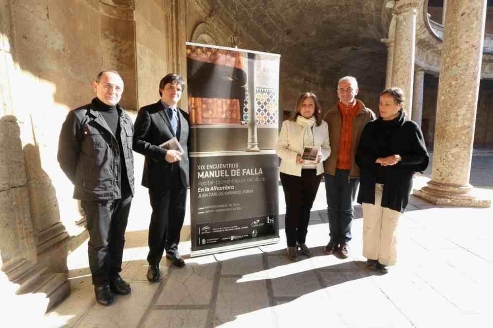 """""""En la Alhambra"""", un recital de piano que llega a los Encuentros Manuel de Falla de la mano del granadino Juan Carlos Garvayo"""