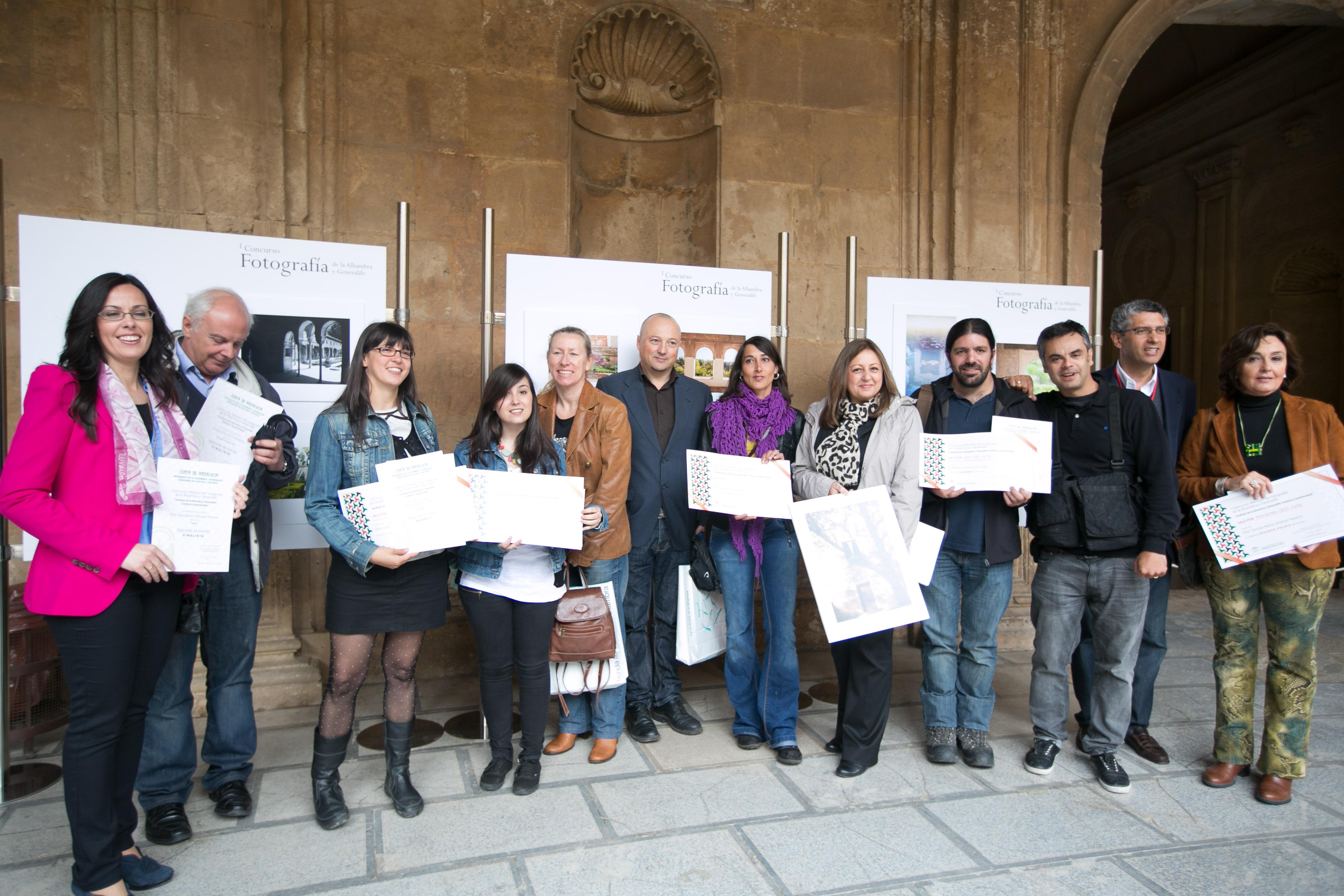 'Simbiosis' obtiene el I Premio del Concurso de Fotografía sobre los Jardines de la Alhambra y el Generalife