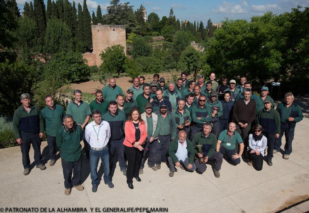 La integración paisajística y patrimonial del Teatro del Generalife, premio de la Asociación Española de Parques y Jardines
