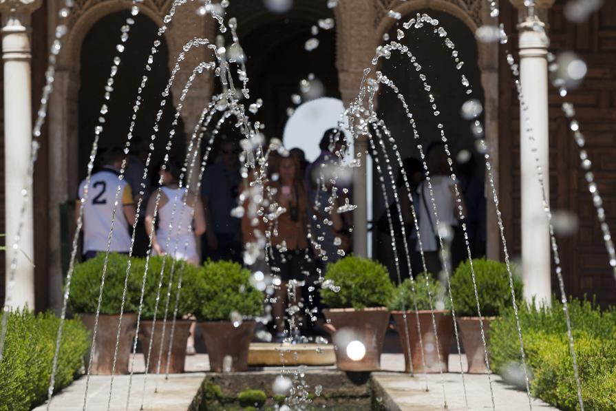 Las visitas a la Alhambra aumentan más de un 10% respecto al año pasado