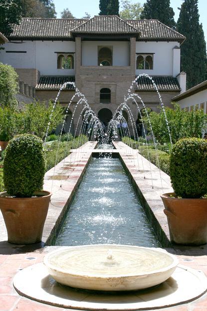 Los jardines de la Alhambra deslumbran en Nueva York