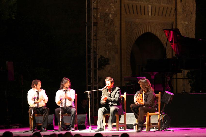 El mundo del flamenco homenajea a Manolo Caracol en la Alhambra