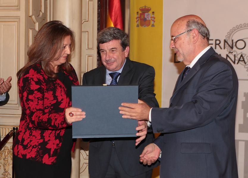 María del Mar Villafranca, premiada por promover el enriquecimiento histórico artístico y cultural