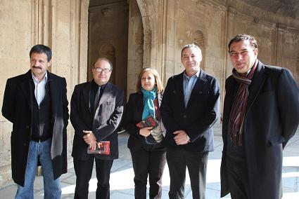 Presentación del libro La Colina Roja, Cuentos de la Alhambra