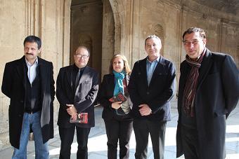 """Presentación del libro """"La colina roja, cuentos de la Alhambra"""""""