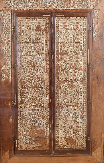 Las puertas de alhacena del Palacio de los Infantes