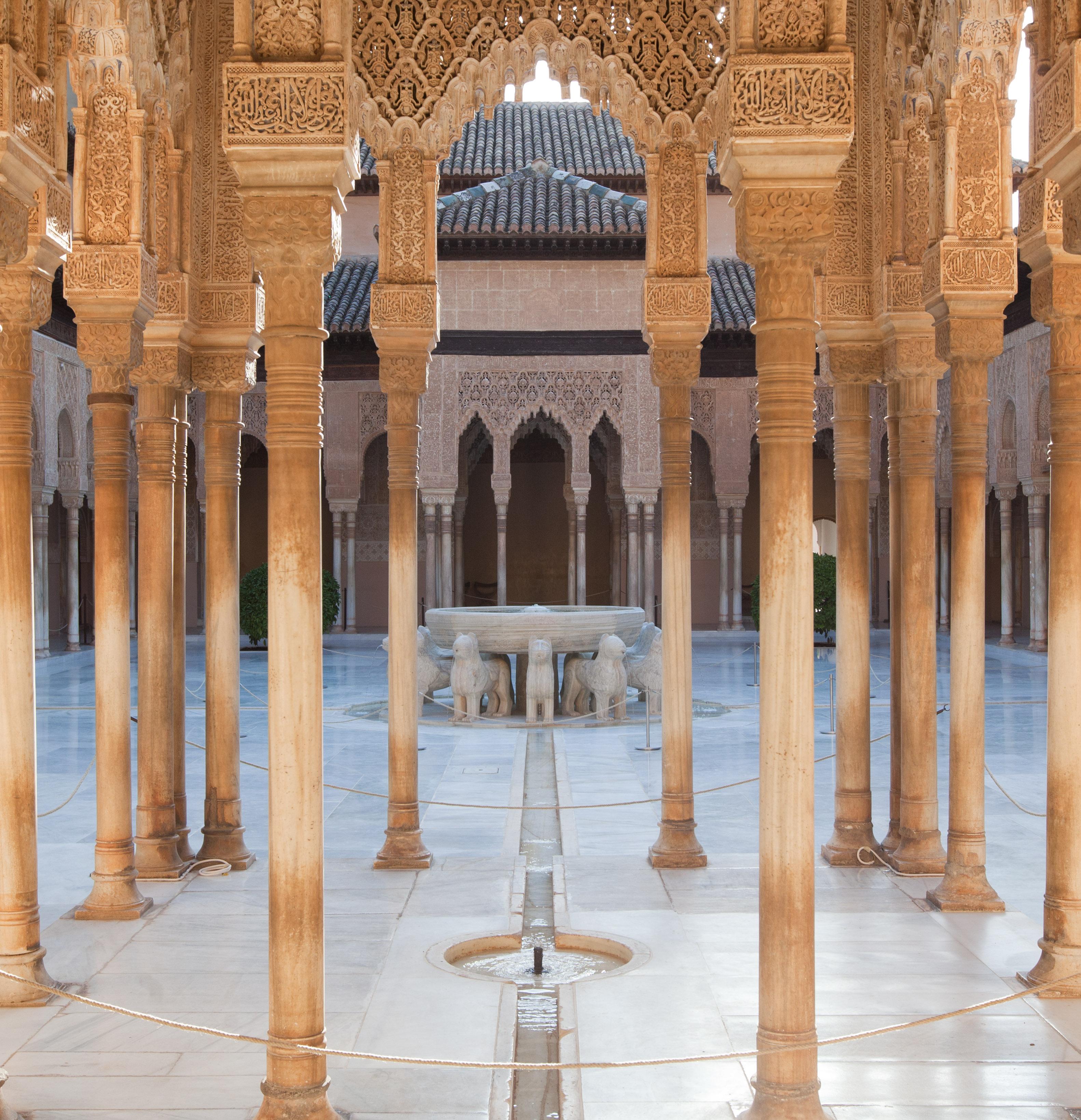 El Patio de los Leones y la señalética de la Alhambra, protagonistas de los premios Europa e Hispania Nostra