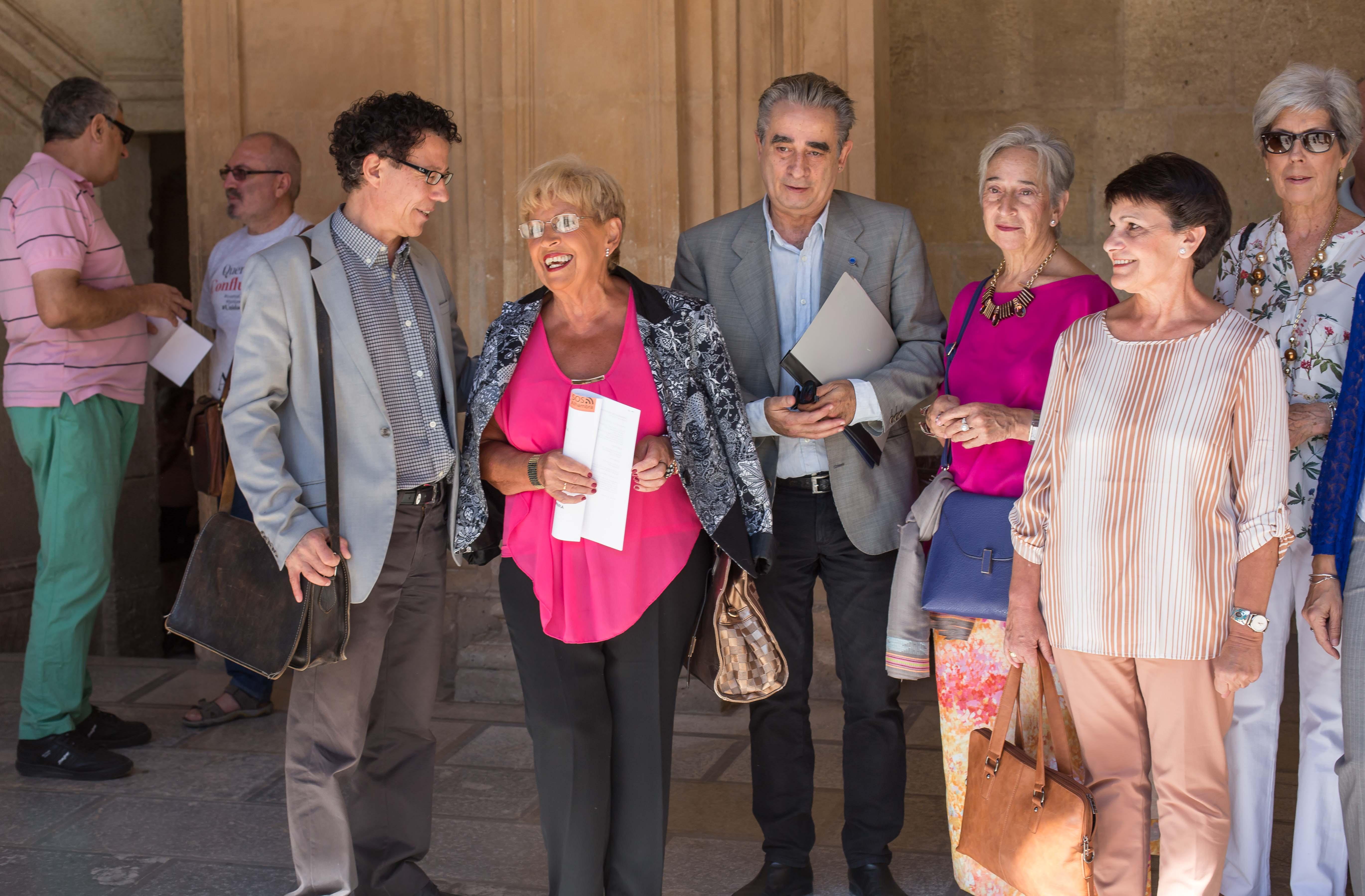 La Alhambra se reúne con instituciones y colectivos de ciudadanos para recabar opiniones sobre el proyecto Atrio