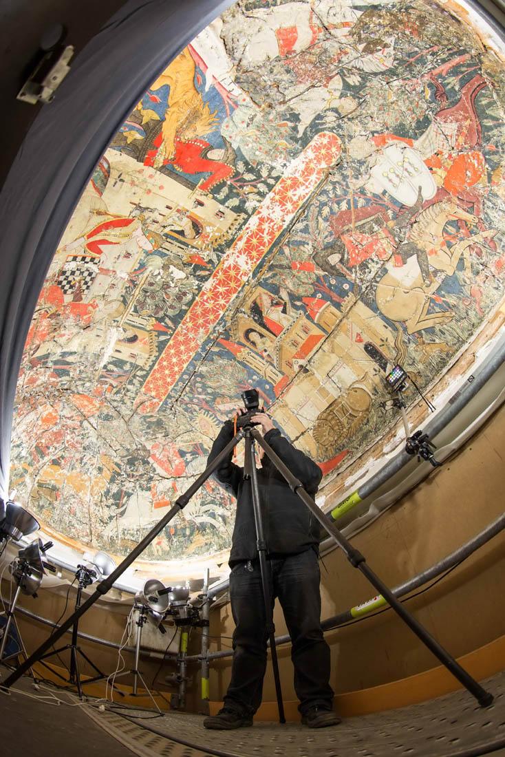 La Alhambra organiza unas jornadas didácticas para informar de las actuaciones en el Patio de los Leones