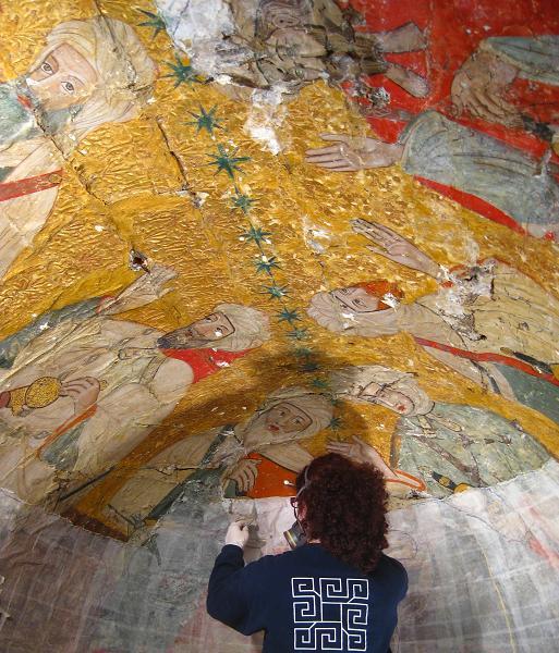 Imágenes inéditas de la Sala de los Reyes, que afronta ya la III fase de su intervención