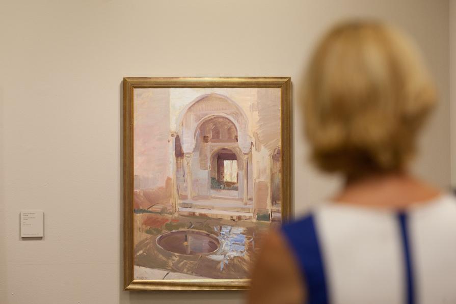 Más de 142.000 personas han visitado la exposición 'Sorolla. Jardines de luz' en la Alhambra