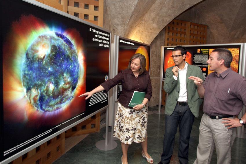 'De la Tierra al Universo: la belleza de la evolución del cosmos' llega a la Alhambra
