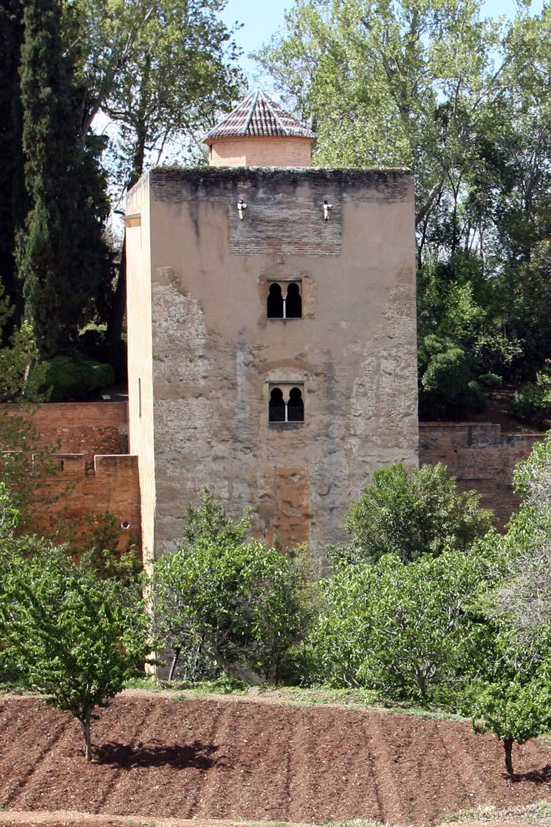 La legendaria Torre de las Infantas de la Alhambra, abierta al público durante el mes de agosto