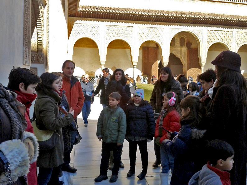 Visitar la Alhambra en familia