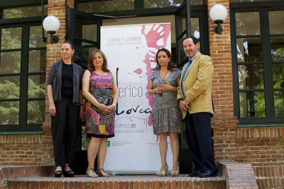 Eva Yerbabuena y el Patronato de la Alhambra y Generalife presentan en Madrid Federico según Lorca