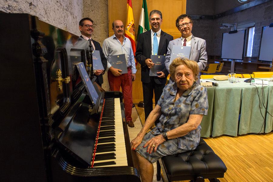 Un libro recopila la obra más desconocida e inédita del compositor granadino Ángel Barrios (1882-1964)
