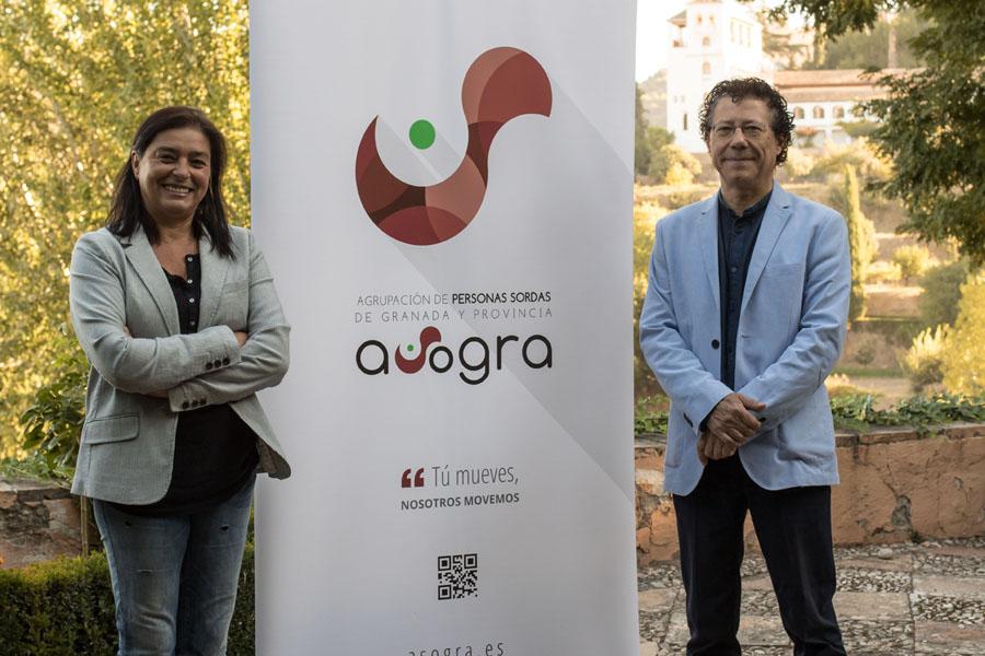La Alhambra firma un convenio de colaboración para hacer más accesible el Monumento a personas sordas.