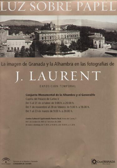 Luz sobre Papel. La imagen de Granada y la Alhambra en la fotografías de J. Laurent