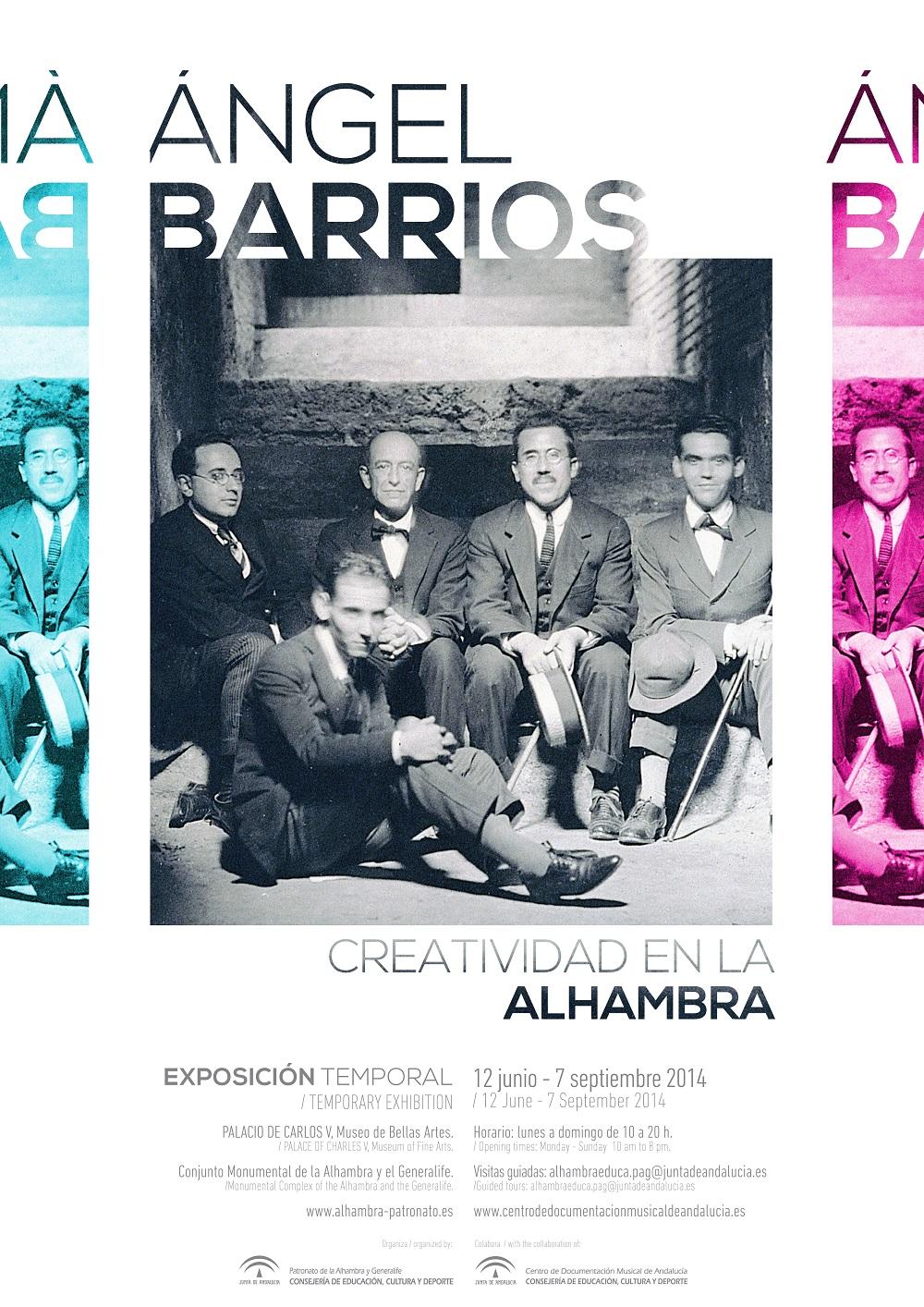 Creatividad en la Alhambra y visitas guiadas gratuitas con música en directo