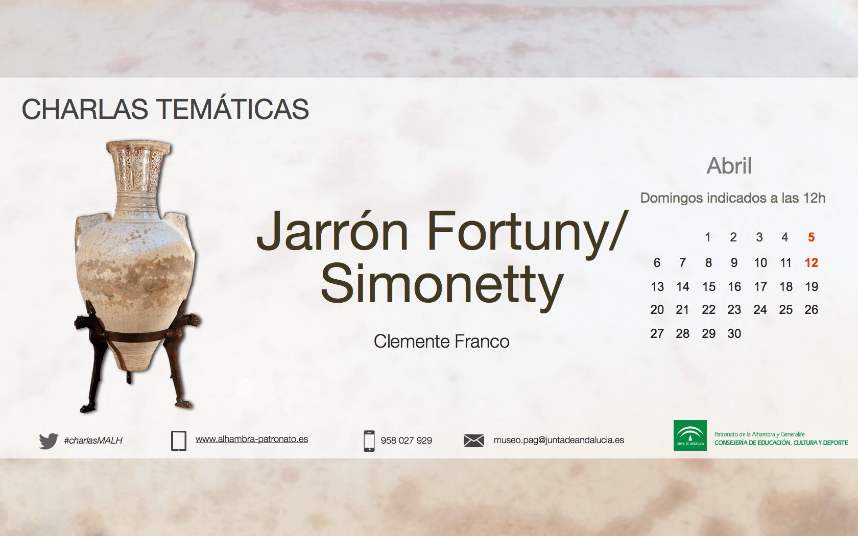 El jarrón de Fortuny-Simonetti y Relaciones socioculturales e institucionales