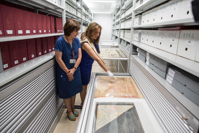 La Alhambra renueva las instalaciones del Archivo y la Biblioteca para mejorar la calidad del servicio