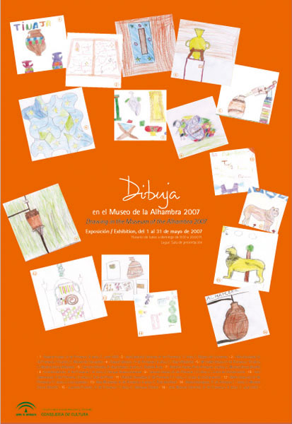 Dibuja y Conoce en el Museo de la Alhambra 2007