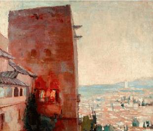 El arte Nazarí y los Pintores Contemporáneos