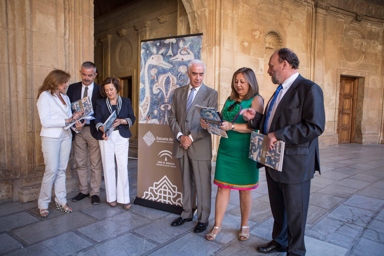Primeros pasos de la Escuela de la Alhambra