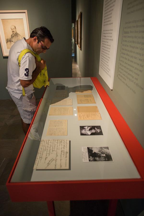 """La exposición """"Zuloaga y Falla. Historia de una amistad"""", visitada por casi 41.000 personas en la Alhambra"""