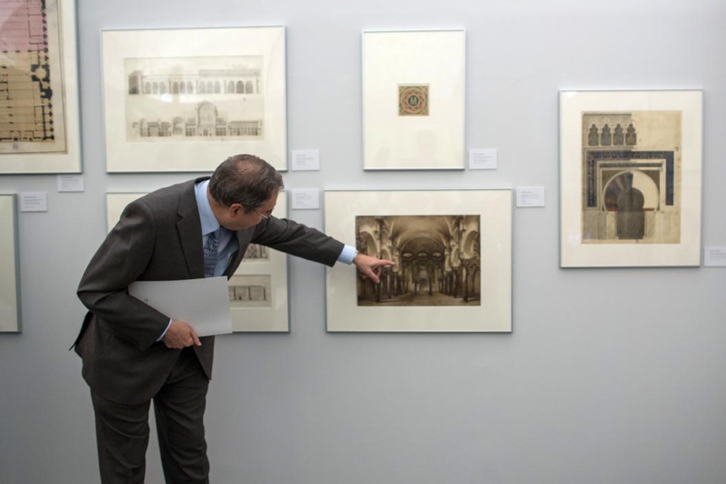 """La Alhambra organiza visitas guiadas gratuitas a la exposición """"El legado de al-ándalus. Las antigüedades árabes en los dibujos de la Academia"""""""