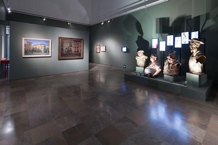 La consejera de Cultura presenta en la Alhambra  la exposición 'Zuloaga y Falla, una historia de amistad'