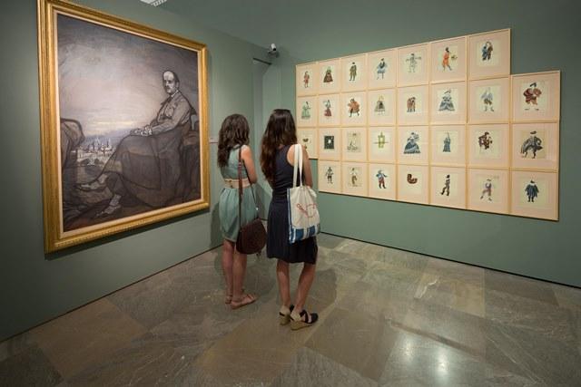 """La Alhambra organiza visitas guiadas gratuitas a la exposición """"Zuloaga y Falla. Historia de amistad"""""""