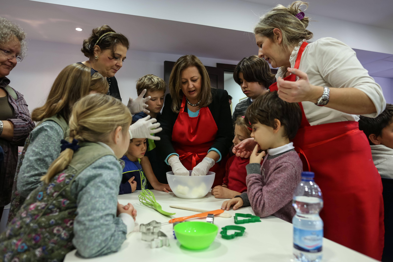 Los pequeños 'top chef' de la Alhambra