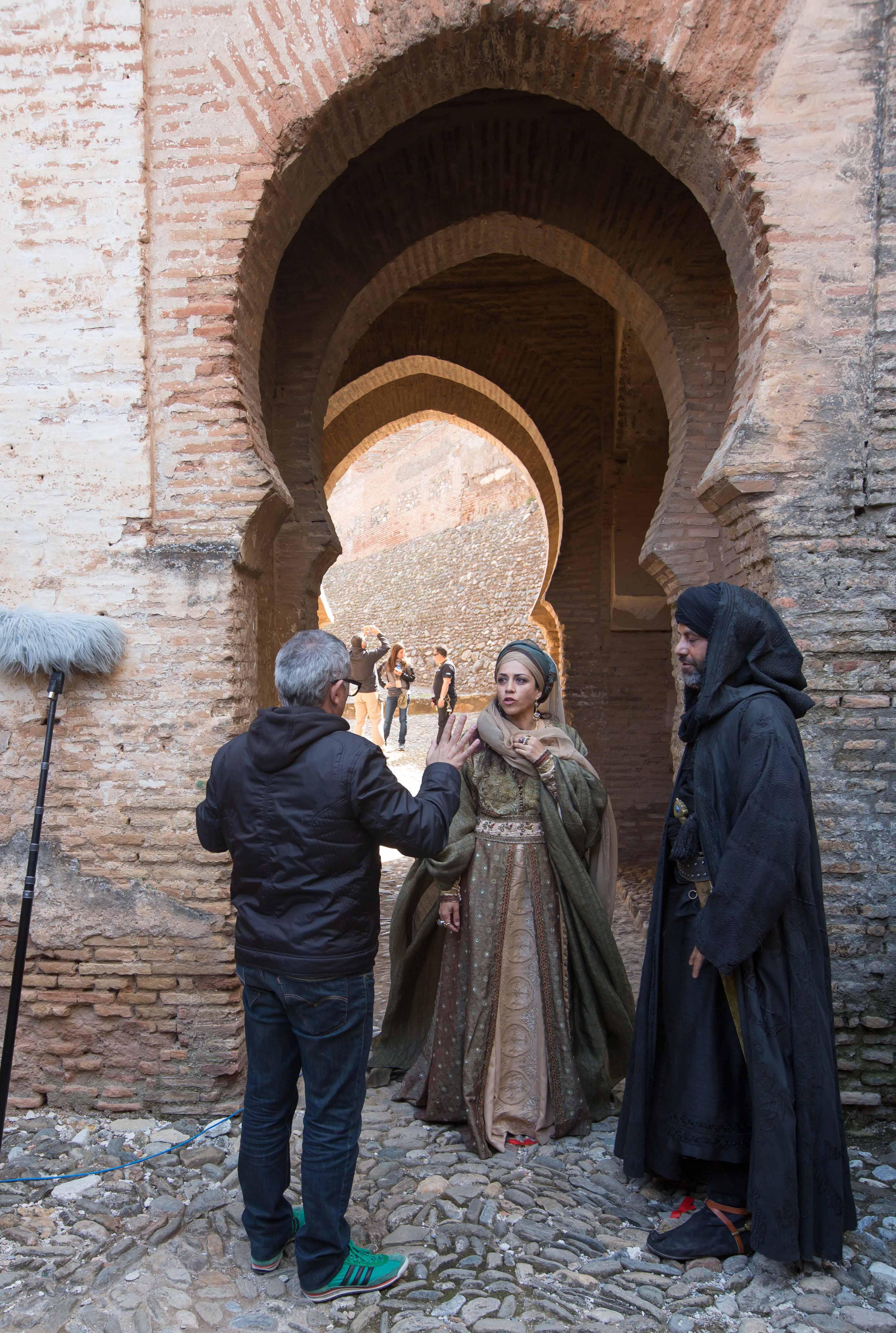 ¡Silencio!… Se rueda en la Alhambra la serie 'Isabel'